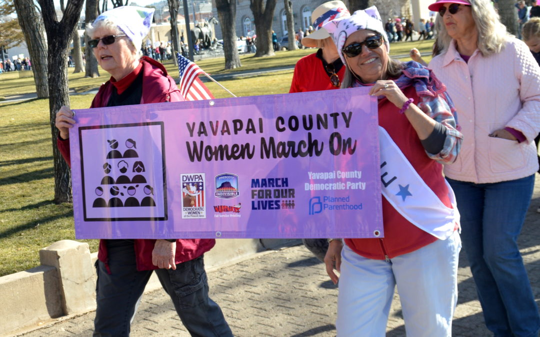 4th Annual Women's March : A Great Success!